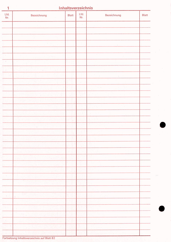 dienstbuch innenseite - Ubergabeprotokoll Muster Gegenstande