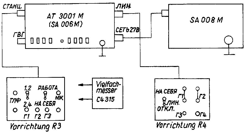 A 040/1/304 A 040/1/302 SAS-Fernsprechgerätesatz