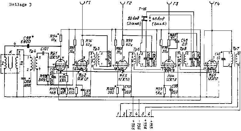 A 040/1/310 SAS-Fernschreibgerät T-205
